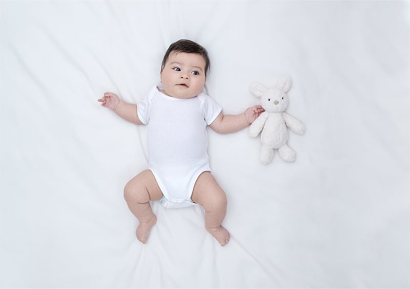 Baby Entwicklung im 5. Monat » Alle Sinne Spielerisch fördern